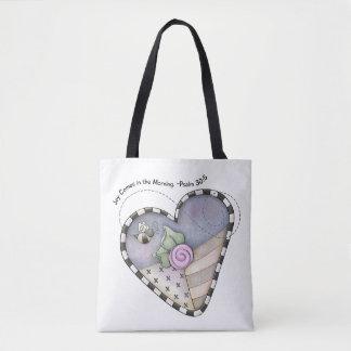Freude kommt in die Morgen-Taschen-Tasche Tasche