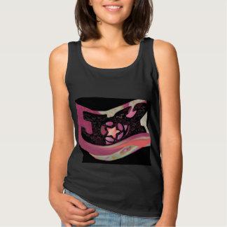 FREUDE Mode-Trägershirt für Frauen/Mädchen Tank Top