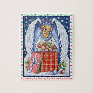 Freude-Puzzlespiel des Bären Weihnachts Puzzle