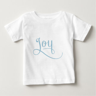 Freude-Skript-Himmel Baby T-shirt