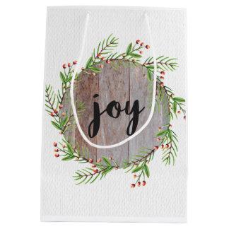 Freude - Weihnachtsgeschenk-Tasche Mittlere Geschenktüte