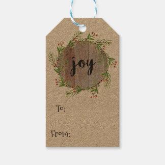 Freude - Weihnachtsgeschenk-Umbauten Geschenkanhänger
