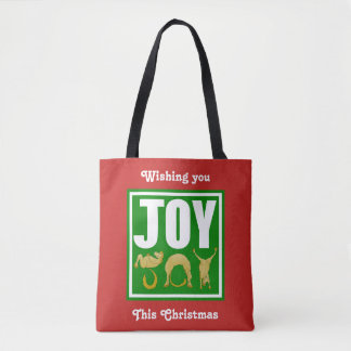Freude-Weihnachtsponys Tasche