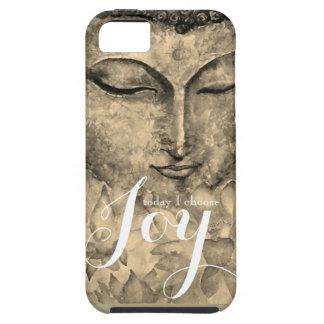 Freude-Zen-Buddha-Aquarell-Kunst-Telefon-Kasten Etui Fürs iPhone 5
