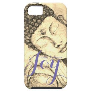 Freude-Zen-Buddha-Aquarell-Kunst-Telefon-Kasten iPhone 5 Cover