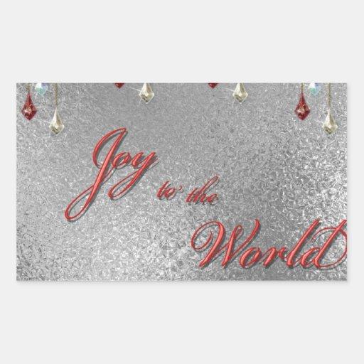 Freude zum Weltweihnachten Aufkleber