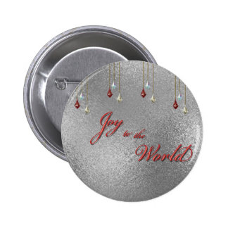 Freude zum Weltweihnachten Button