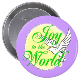 Freude zum Weltweihnachten Buttons