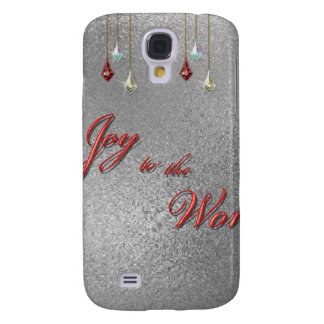 Freude zum Weltweihnachten Galaxy S4 Hülle