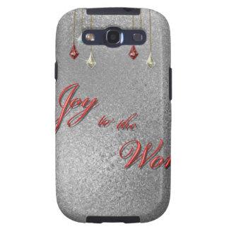 Freude zum Weltweihnachten Galaxy S3 Hülle