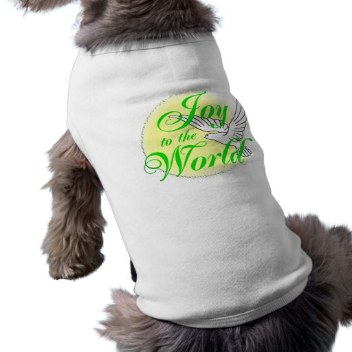 Freude zum Weltweihnachten Hundeshirts