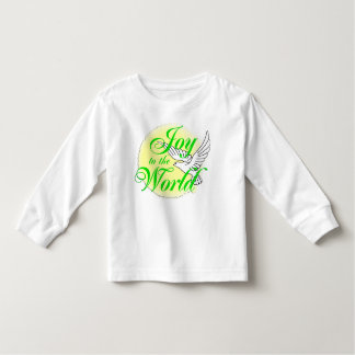 Freude zum Weltweihnachten Kleinkinder T-shirt