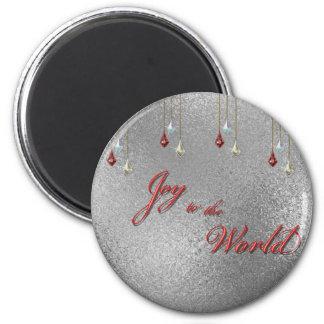 Freude zum Weltweihnachten Magnets