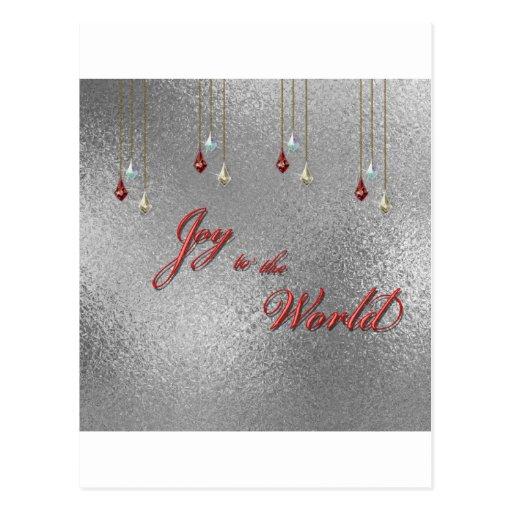 Freude zum Weltweihnachten Postkarten