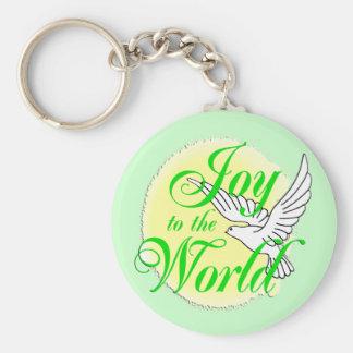 Freude zum Weltweihnachten Schlüsselanhänger