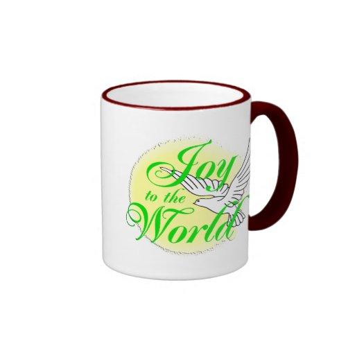Freude zum Weltweihnachten Kaffeetasse