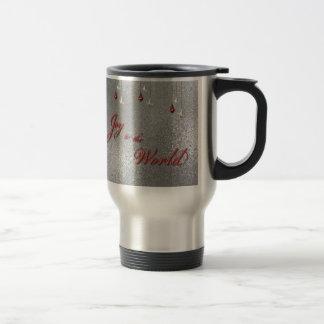 Freude zum Weltweihnachten Kaffeehaferl