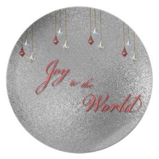 Freude zum Weltweihnachten Flacher Teller