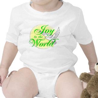 Freude zum Weltweihnachten Baby Strampelanzug