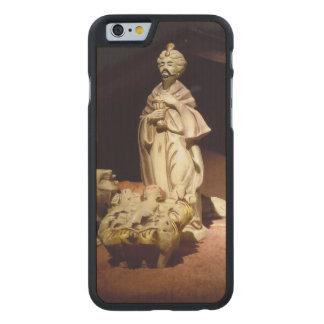 Freude zur Welt Carved® iPhone 6 Hülle Ahorn