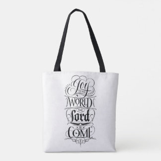 Freude zur Welt der Lord ist gekommene Tasche