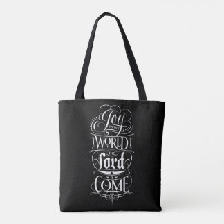 Freude zur Welt der Lord ist gekommenes Tasche