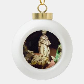 Freude zur Welt Keramik Kugel-Ornament
