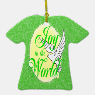 Freude zur WeltweihnachtsT - Shirt-Verzierung