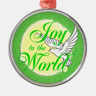 Freude zur Weltweihnachtsverzierung Weihnachtsornament