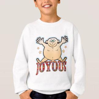 Freudiger fetter Mann Sweatshirt