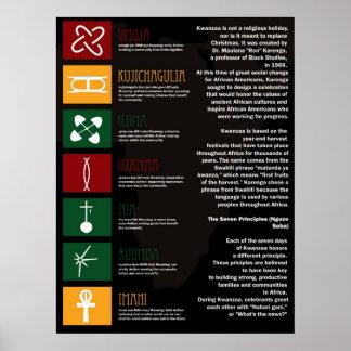 Freudiges Kwanzaa Poster