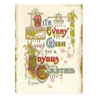 Freudiges Ostern Postkarte