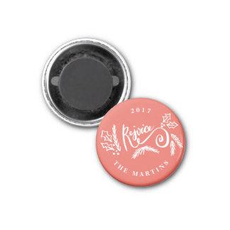 FREUEN Sie sich Runder Magnet 3,2 Cm
