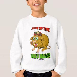 Freund des wilden Haggis Sweatshirt