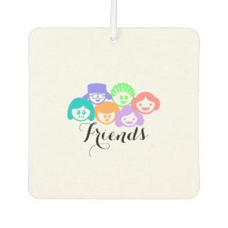 """""""Freund-"""" Freundschaft, niedliches Lufterfrischer"""