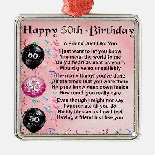Zum 50 gedicht 50. Geburtstag
