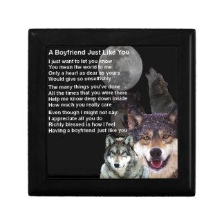 Freund-Gedicht - Wolf-Entwurf Erinnerungskiste