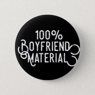 Freund-Material 100% Runder Button 5,1 Cm