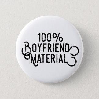 Freund-Material 100% Runder Button 5,7 Cm