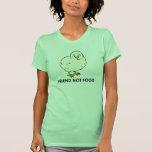 Freund-nicht Nahrung vegan Shirt