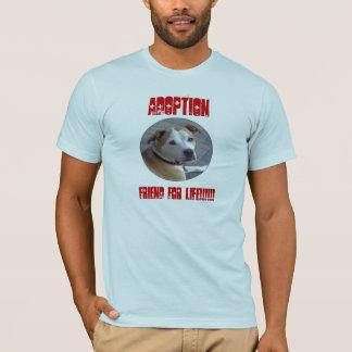 Freund Pitbull Adoption A für das Leben T-Shirt