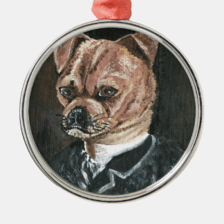 Freund Silbernes Ornament