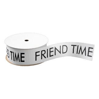 Freund-Zeit-Band Ripsband