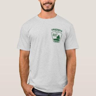 Freunde der Metros parkt T - Shirt (den Schnitt
