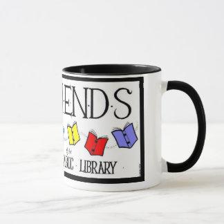 Freunde der Rahway allgemeine Bibliotheks-Tasse Tasse