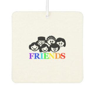 """""""Freunde"""" Freundschaft, Lufterfrischer"""