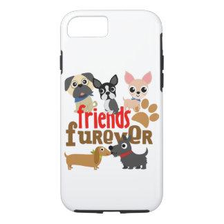 Freunde Furever verfolgt Welpen iPhone 7 Hülle