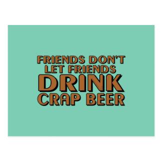 Freunde lassen nicht Freunde…. Postkarte
