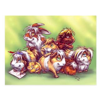 Freunde von Geschäft für Haustiere II Postkarte