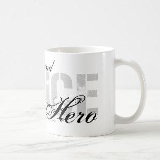 Freundin ist mein Held - POLIZEI Kaffeetasse